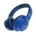 JBL 無線藍牙頭戴式耳機/HIFI音樂耳機 (藍)  E55BT
