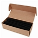 优玛仕 34孔活页装订铁圈 (黑) 100支/盒  直径12.7mm