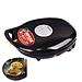 九阳 电饼铛/煎烤机/双面悬浮烙饼机 (黑色) 1500W  JK-30K07