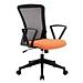 恩荣 职员网椅 (座垫橙/椅背黑)  JG800233G