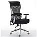国产 顺发记忆棉舒适主管椅(特价) 黑+黑腰靠  JM1633A