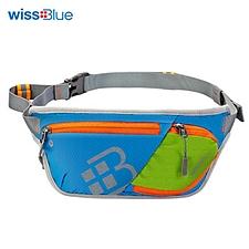維仕藍 輕薄跑步腰包 (藍色) 38*13*1cm  WB1155-B