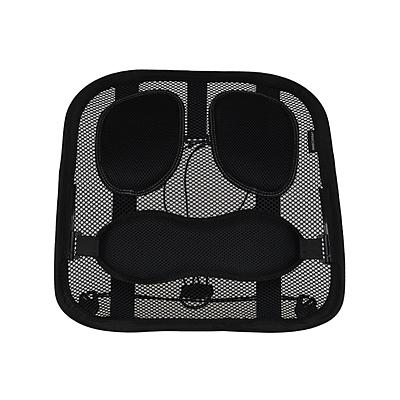 MASCOMMA 人体工程学椅靠背 (黑色) 415*150*410mm  AH00413/BLK