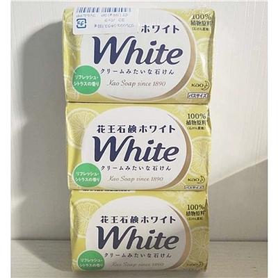 花王 香皂香橙味黄色 130g*3块