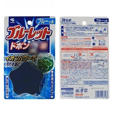 小林制药 小林马桶清洁块薄荷蓝色 120g