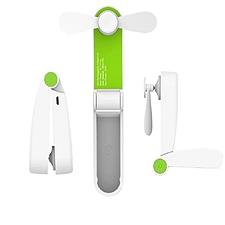 REMAXLIFE 便携迷你折叠小风扇 (绿色) 300毫安  RL-FN07