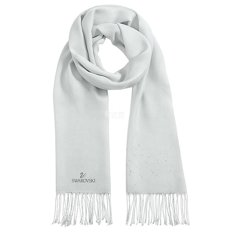 施华洛世奇 Scarf水晶围巾 (灰色)  5231605