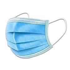 希望 一次性防護口罩 (顏色隨機)