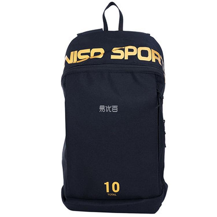 MINISO ins运动双肩包 (黑色) 36*13*24cm