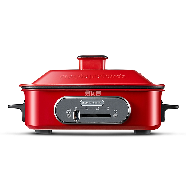摩飛 多功能鍋 (紅色) 220V/50Hz/1400W  MR9088