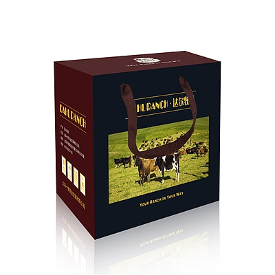 达尔牧场 牛排礼盒B档  588型