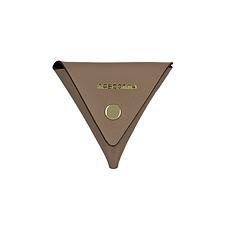 MASCOMMA 牛皮三角彩色零钱包 (深驼色) 100*100*100mm  5C217/BGE