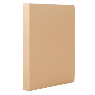 东迅 2孔D型纸质文件夹 (原色) A4  DX-FR402