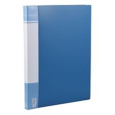 国誉 再生PP文件夹 (蓝) 单强力夹  EB0906B