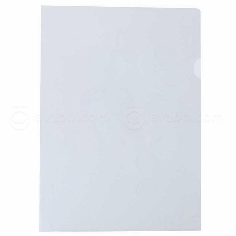 易优百 二页文件保护套 (透明) A4 20个/包  E310