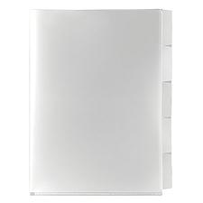 国誉 易匠 5页分类文件保护套 (透明) A4 3个/包  YJ-E355