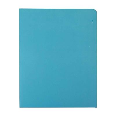 富得快 文件报告纸套 (蓝) A4  56201