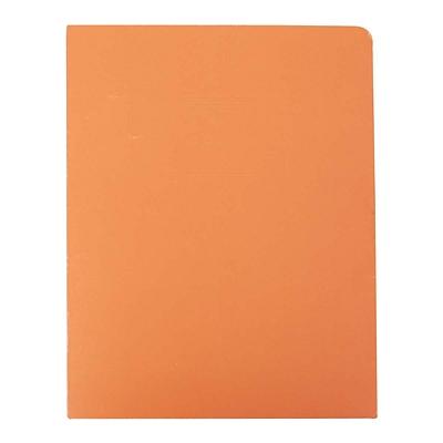 富得快 文件报告纸套 (橙) A4  56201