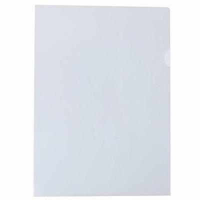 易优百 二页文件保护套 (透明) A4 50个/包  E310-1