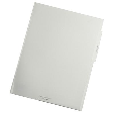 喜利 noie-style系列文件套 (白色) A4 3页  F-7671-0