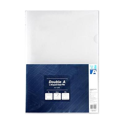 达伯埃 二页文件保护套 (透明) A4 12个/包