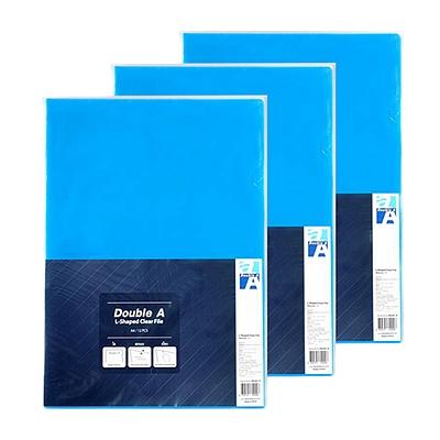 达伯埃 二页文件保护套 (蓝色) A4 12个/包