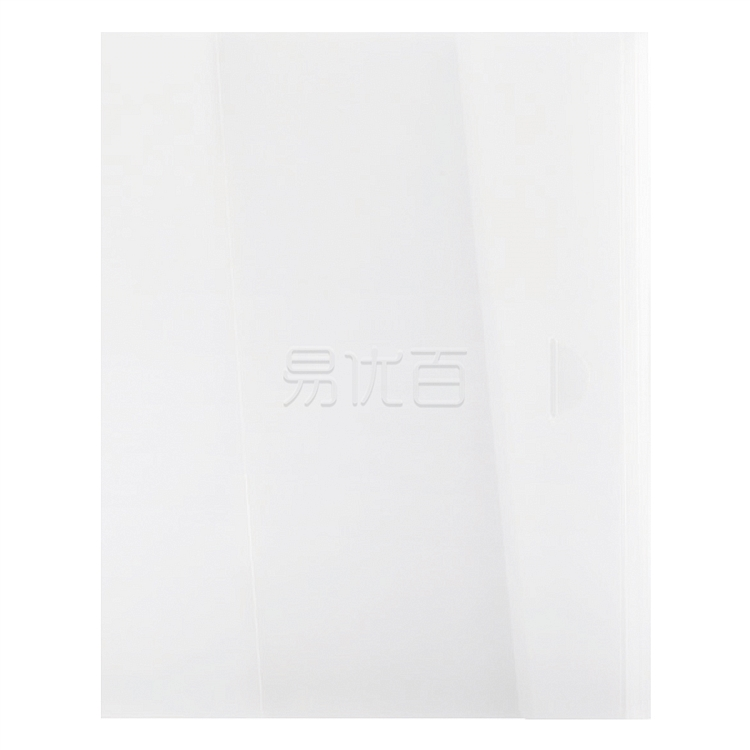 国誉 格子印象文件组合收纳册 (透明(四色混装)) A4S  WSG-FUL820