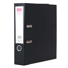 齐心 半包胶档案夹 (黑) A4/3寸  A106A