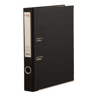 益而高 半包胶档案夹 (黑) FC/2寸  9309B/1