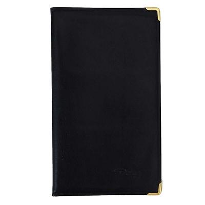 思域 软皮名片册 (黑) 一段三格(单面)/160枚  EL160