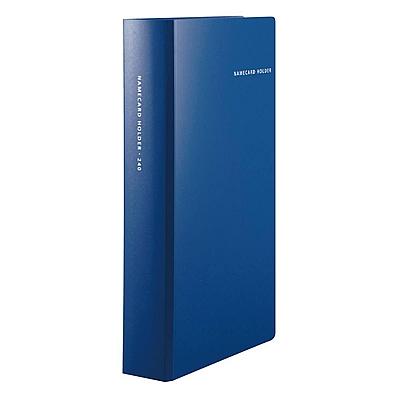 国誉 名片册 (蓝) 240枚  WCN-NC90-240B