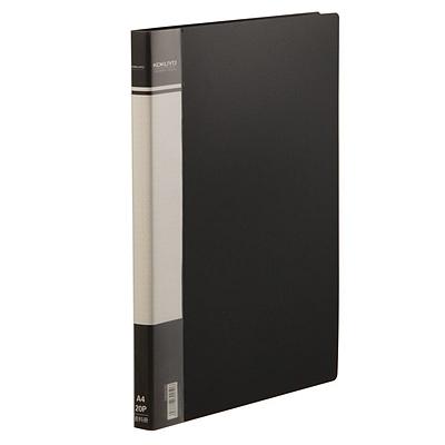 国誉 资料册 (黑) 20袋  EB0903D