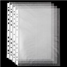 齐心 11孔文件保护袋 A4 20个/袋  EH303A