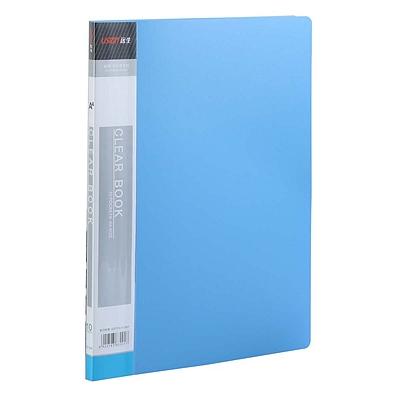 远生 资料册 (蓝) A4 10袋  US-10A