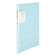 國譽 淡彩曲奇資料冊 (藍) A4 20袋  WSG-CBCN20B