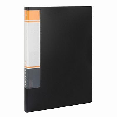 国誉 资料册 (黑) A4 40袋  WCN-CB10-40D