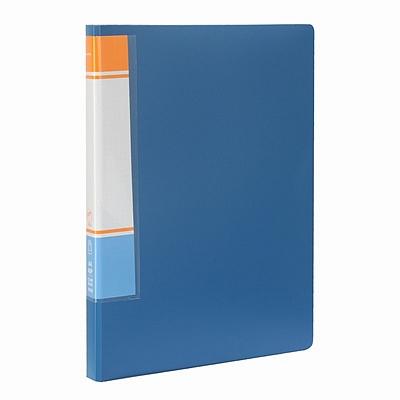 国誉 资料册 (蓝) A4 40袋  WCN-CB10-40B