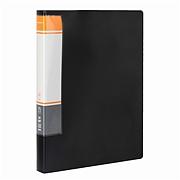 國譽 資料冊 (黑) A4 60袋  WCN-CB10-60D