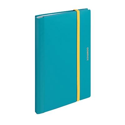 锦宫 A4对折资料册 (水蓝色) A4对折  5894M-GS