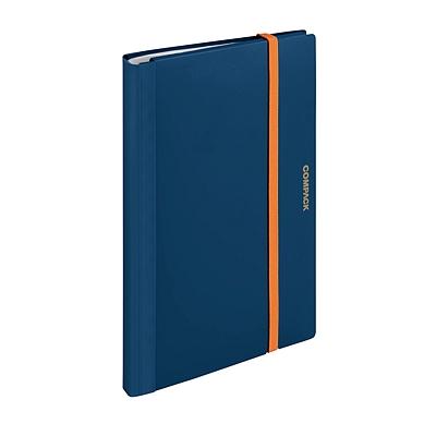 锦宫 A4对折资料册 (海蓝色) A4对折  5894M-GS