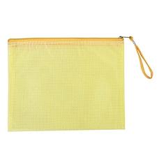 遠生 網格拉鏈袋 (混色) A5  US-A54