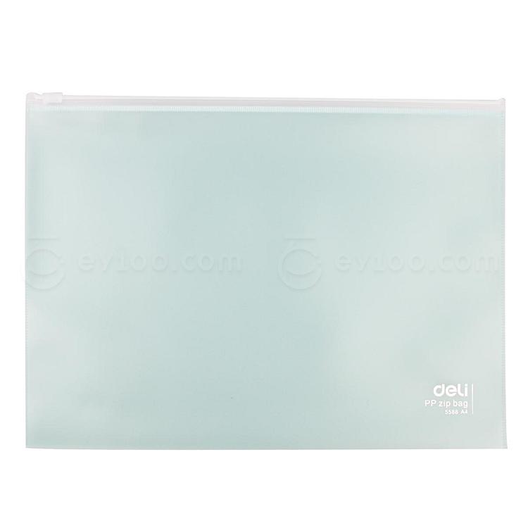 得力 拉边袋 (混色) A4  5588