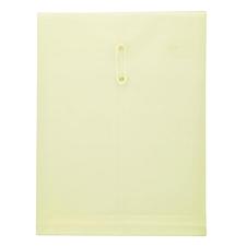 金得利 缠绳档案袋 (浅黄) A4竖  F118
