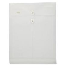 金得利 缠绳档案袋 (白) A4竖  F118