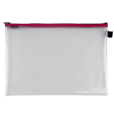金得利 EVA网格拉链袋 (混色) A4  FB8711