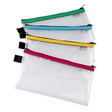 金得利 EVA网格拉链袋 (混色) 票据  FB8714
