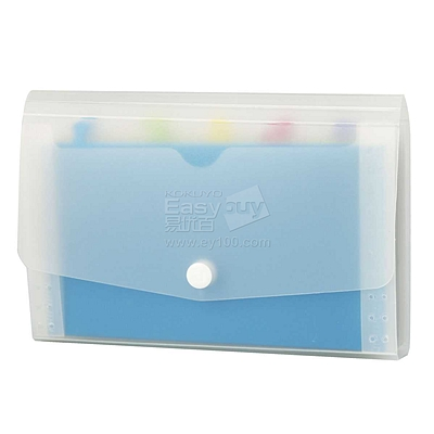 齐心 Lucky5 风琴包(MINI掌上型) (彩色) 11格 票据包  A552