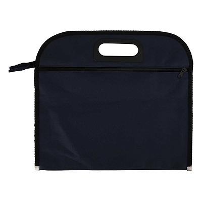 齐心 会议专用织布袋 (蓝) A4双袋  A1669-X