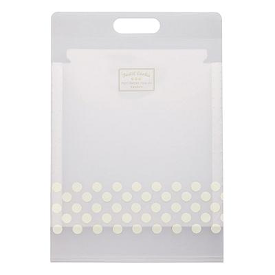 国誉 淡彩曲奇竖式风琴包 (透明) A4 6袋  WSG-DFC65T