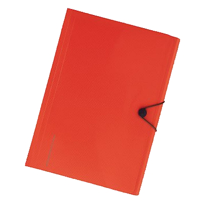 喜利 smartfit系列便携6层风琴包 (橘) A4  A-7589-4